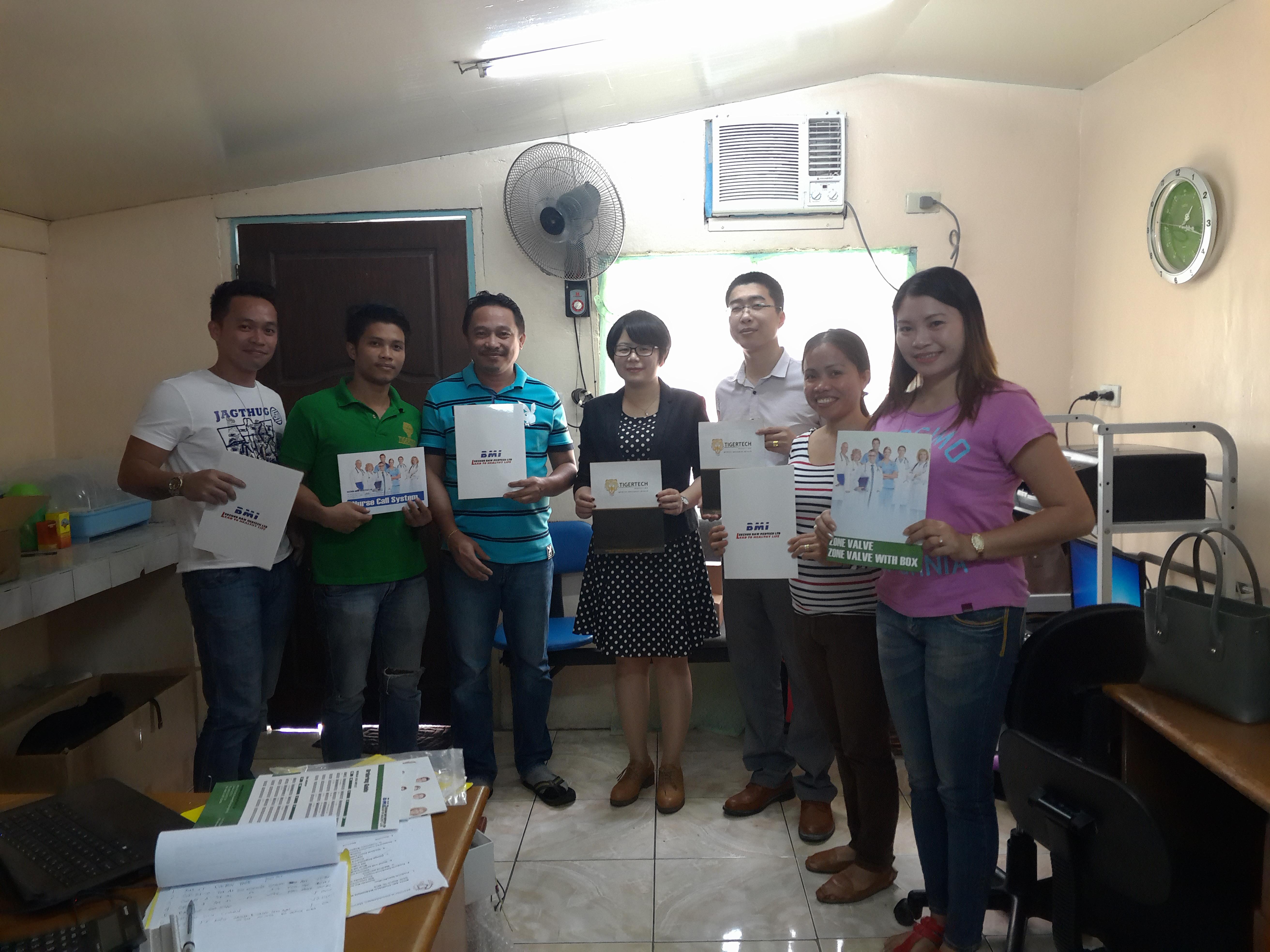 cliente de 20160316 Filipinas de la visita (42)